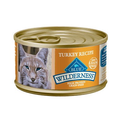 THE BLUE BUFFALO CO. BLUE™ Wilderness® Turkey Recipe For Adult Cats