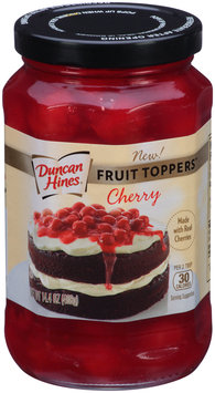 Duncan Hines® Cherry Fruit Toppers™ 14.4 oz. Jar