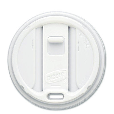 Dixie Smart Top Reclosable Lids for Hot Cups