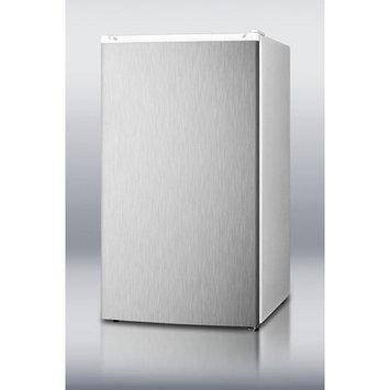 Summit Appliance 33.5 x 18.75 Refrigerator Freezer with Crisper Cover Glass Type