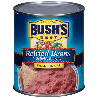 Bush's Best® Traditional Refried Beans 30 oz. Can