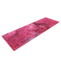 Kess Inhouse Cotton Candy by CarolLynn Tice Yoga Mat