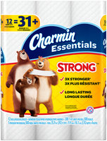 Essentials Strong Charmin Essentials Strong Toilet Paper 12 Giant Rolls