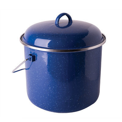 Stansport Cast Steel 7-qt. Straight Pot with Lid