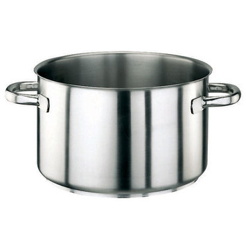 Paderno World Cuisine 11007 Stainless Steel Sauce Pot, Silver, 14.75 diam. x 10.62H in. - Silver, 14.75 diam. x 10.62H in. - 11007-45