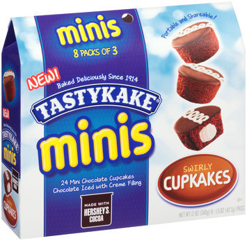 Tastykake® Minis Swirly Cupkakes 8 - 1.5 oz Packages