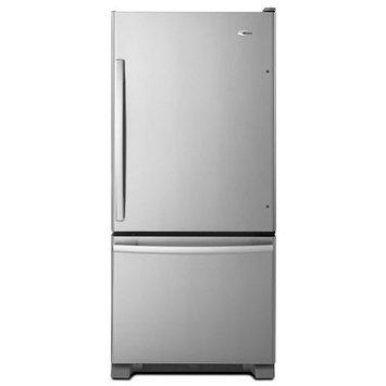 Amana Stainless Steel Bottom Freezer Refrigerator