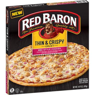Red Baron® Thin & Crispy Crust BBQ Style Chicken Pizza 14.97 oz. Box