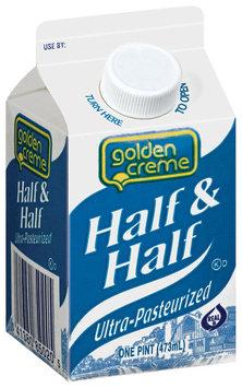Golden Creme  Half & Half 1 Pt Carton
