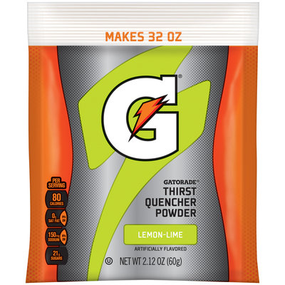 Gatorade® G® Series Perform Lemon-Lime Sports Drink Powder 2.12 oz. Pouch