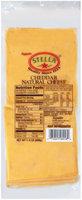Stella® Cheddar 1.5 Lb Cheese    Wrapper