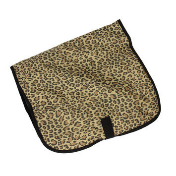 Household Essential 6940-1 Hanging Cosmetic Travel Bag - Leopard