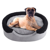Soft Touch Lucky Oval Cuddler Dog Bed - 36