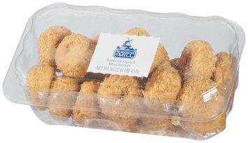 Dutch Mill Coconut Crunch Mini Donuts 16 Oz Clamshell