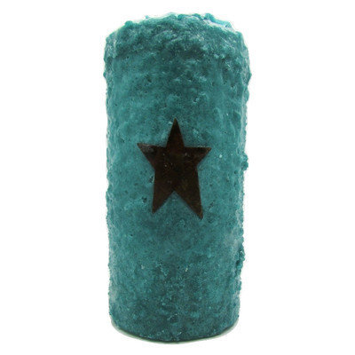 Starhollowcandleco Star Votive Candle Color: Turquoise