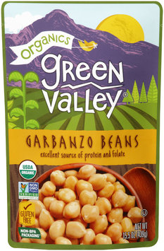 Green Valley® Organics Garbanzo Beans 15.5 oz. Pouch