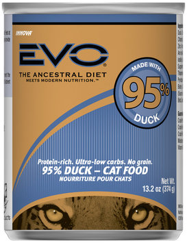 Evo® 95% Duck Cat Food 13.2 oz. Can