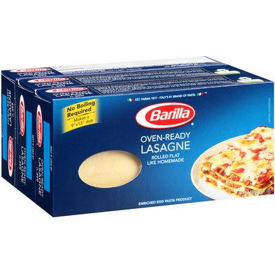 Barilla® Oven-Ready Lasagne 3-9 oz. Boxes