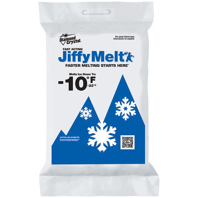 Diamond Crystal® Jiffy Melt Fast Acting Ice Melter 10 lb. Bag