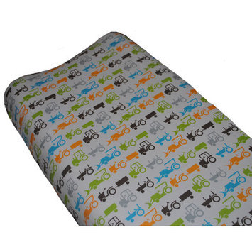 Go Mama Go Tractor Trails Changing Pad Cover