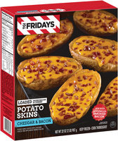 TGI Friday's® Loaded Cheddar & Bacon Potato Skins 32 oz. Box