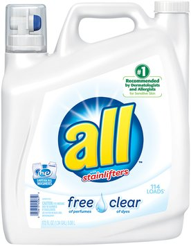 all® free clear Laundry Detergent 172 fl. oz. Bottle