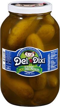 Del Dixi® 12-16 Count Hot Dill Pickles 1 gal. Jar