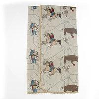 Sweet Potato by Glenna Jean Happy Trails Quilt (Cowboy Print)