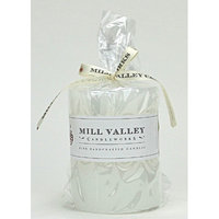 Mill Valley Candleworks Sweet Cream Scented Pillar Candle Size: 4