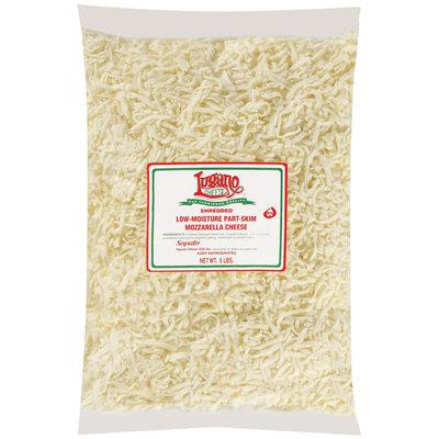 Lugano Mozzarella Shredded Low Moisture Part Skim Cheese