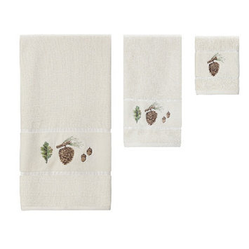 Creative Bath Northwoods Embroidered Towel Set