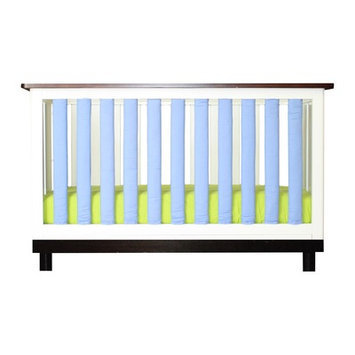 Go Mama Go Doctor Approved Wonder Crib Size: 38 Pack, Color: Lime / Periwinkle