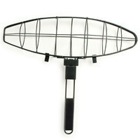 Charcoal Companion Steven Raichlen Non-Stick Large Fish Grilling Basket