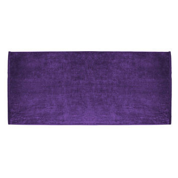 Terry Town Beach Towel Color: Purple