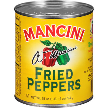 Mancini® Fried Peppers 28 oz. Pull-Top Can