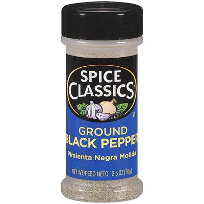 Spice Classics® Ground Black Pepper 2.5 oz. Shaker