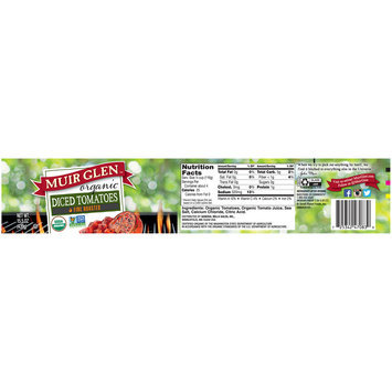 Muir Glen™ Organic Fire Roasted Diced Tomatoes 15.5 oz. Jar