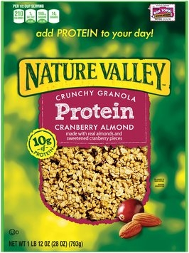 Nature Valley™ Cranberry Almond Protein Crunchy Granola 1.75 pound Bag