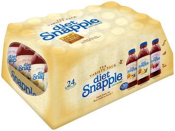 Diet Snapple® Peach/Lemon/Raspberry Tea 24 ct Pack