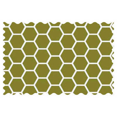 Stwd Sage Honeycomb Fabric by the Yard