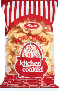 Kitchen Cooked Classic Pork Rinds $1.19 Prepriced 2.25 oz. Bag