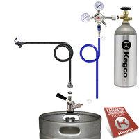 Kegco Standard Party Beer Dispener Keg Tap Kit S1PK-5T