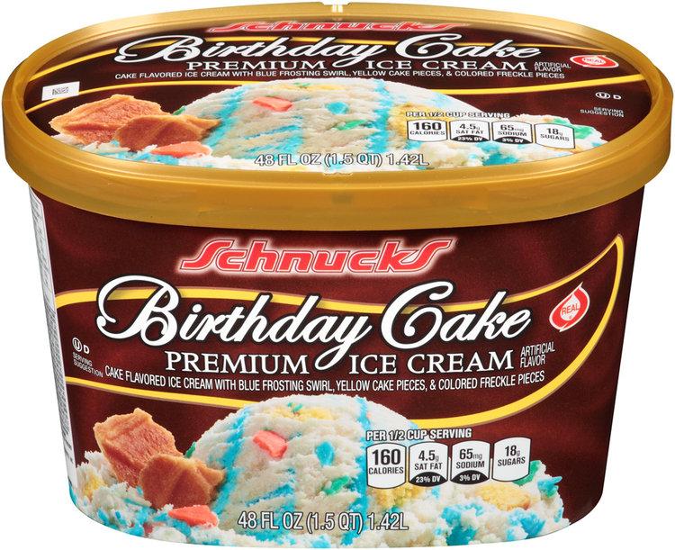 Schnucks Birthday Cake Ice Cream 48 Fl Oz Carton Reviews