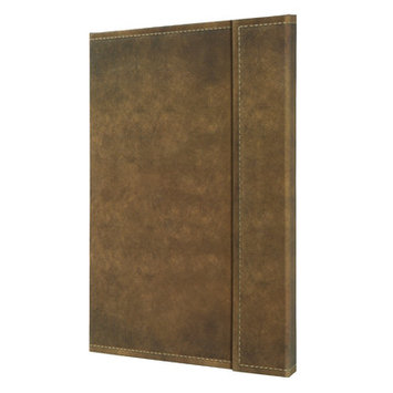 Bindertek Sigel Vintage Hardcover Graph Notebook - Large Size with Magnetic Closure Size: 8