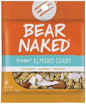 Bear Naked® Coconut Almond Curry Granola 1.2 oz. Pouch