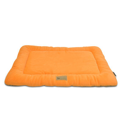 PLAY Chill Pad Orange Dog Bed Small