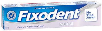 Free Fixodent Neutral Denture Adhesive Cream, 68g