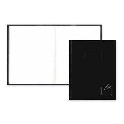 Rediform Office Products REDA9P Business Notebook- 192 Sheets- Col-Margin- 9. 25inchx7. 25inch- BK