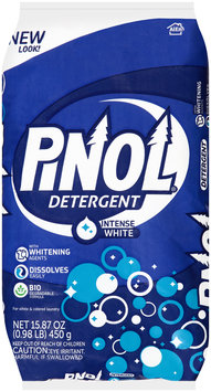 Pinol® Intense White Powder Laundry Detergent 15.87 oz. Bag