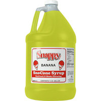 Snappy Popcorn 1 Gallon Snow Cone Syrup Flavour: Banana